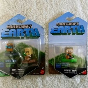 Minecraft Earth Figurines. NWOT